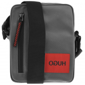 Product Image for HUGO Kombinat Reporter Bag Black